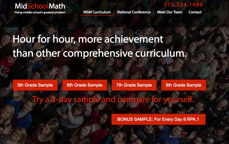 Midschoolmath Digital Toolset
